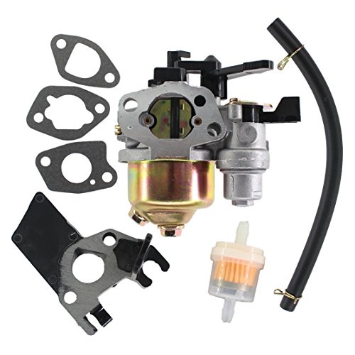 USPEEDA Carburetor for Honda GX120 GX160 GX200 4HP 5.5HP 6.5HP 168F 2KW - 3KW 16100-ZH7-W51 16100-ZH8-W61 JINGKE Huayi Kinzo Ruixing Wisdom Gas Generator by USPEEDA