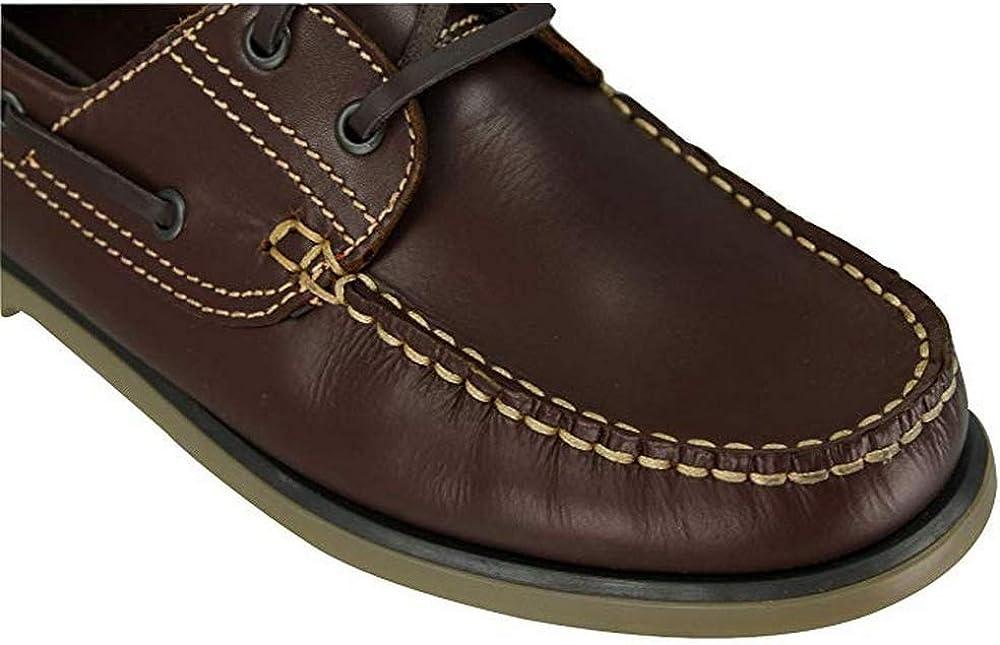 39 EUR Chaussures Bateau Gar/çon Marron Dek