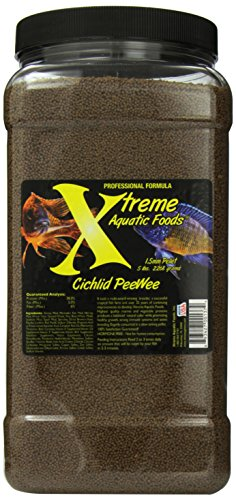 Xtreme Aquatic Foods 2137-G Cichlid Pee-Wee Fish Food