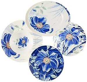 Kütahya Porselen BNKL52YT880044 Yemek Takımı, Bone Porselen, 52 Parça