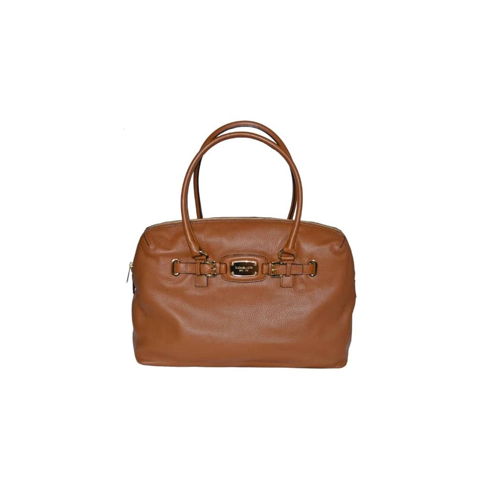 Michael Kors Luggage Leather Hamilton Weekender Satchel Tote Handbag Bag