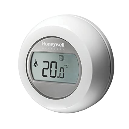 Honeywell y87rf2024 único zona termostato, color blanco/gris