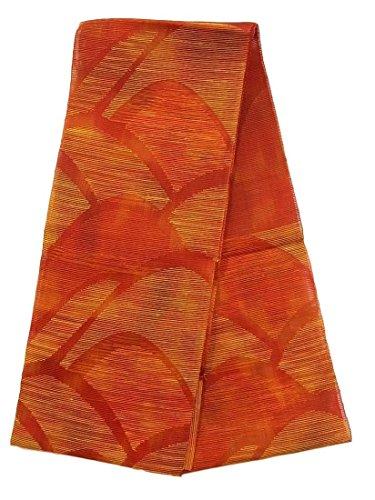 クラッチ置くためにパックストライクリサイクル 八寸 名古屋帯 夏物 紗 遠山文 正絹