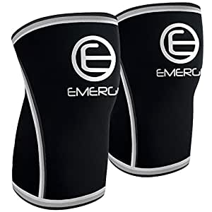 Emerge Fitness Compression Knee Sleeves,  Small