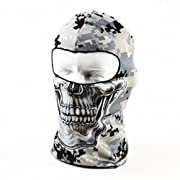 Amazon Lightning Deal 95% claimed: Your Choice Thin UV Protective Balaclava Motorcycle Cycling Sports Skull Face Mask Camo