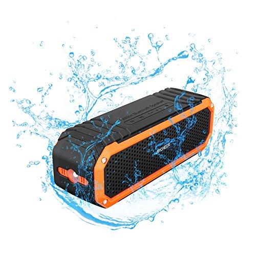 Archeer Portable Bluetooth Microphone Flashlight