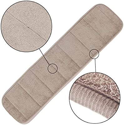 AMEI 2Pcs Computer Wrist Rest Arm Pad Keyboard Wrist Elbow Support Mat for Office Desktop Working /& Gaming Brings More Comfort /& Less Strain Khaki 7.9 x 31.5 inch