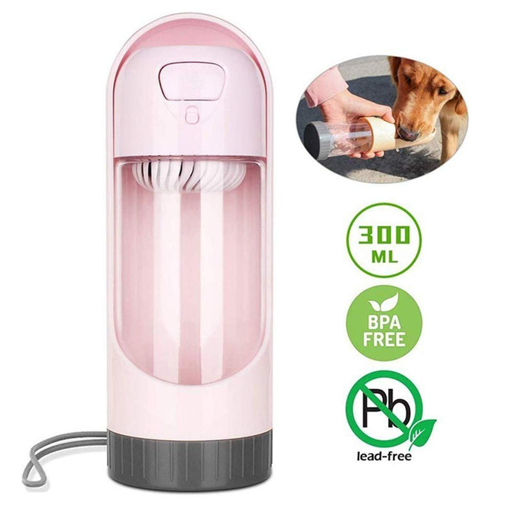 Outdoor Travel Out Of The Dog Kettle Drinking Fountain, Pullable Design More Portable Telescopic Accompanying Cup, Easy To Store