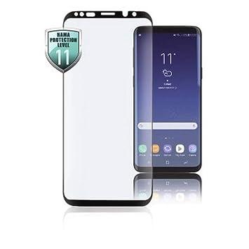 Hama Schutzgl 3d Full Screen Samsung Galaxy S8 Amazon De Elektronik