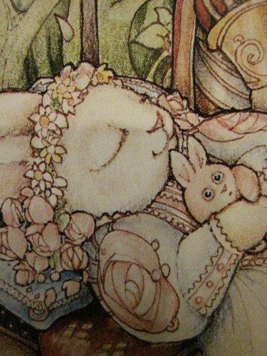 One Blank Greeting Card ..... Sleeping Bunny