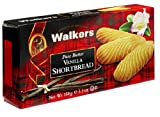 Walkers Shortbread Vanilla Shortbread, 5.3-Ounce Boxes (Pack of...