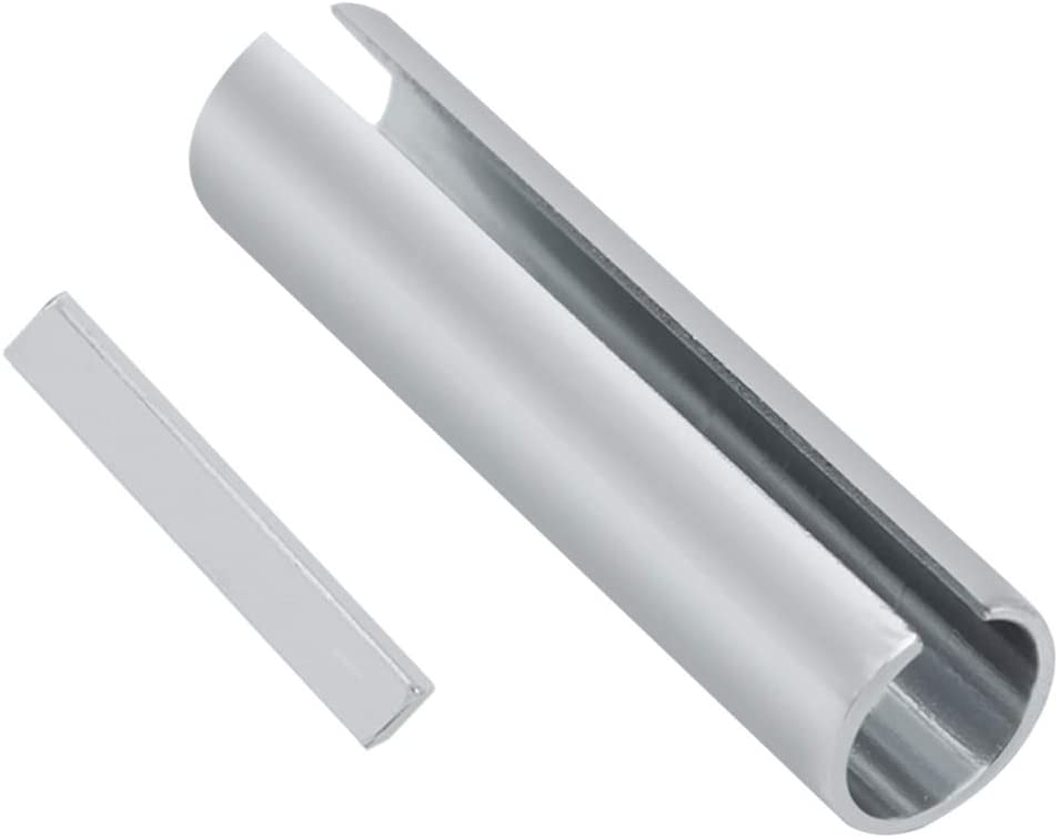 ZUDKSUY 5//8 x 3//4 x 3 Pulley Bore Reducer Sleeve Shaft Adapter Pulley Bore Reducer Sleeve Bushing Sheave /& Key Silver