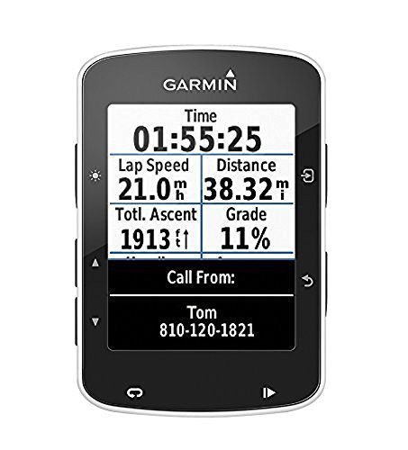 Garmin 010-01368-00 Edge 520 GPS Bike Computer, Standard (Black)