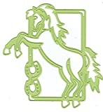 Shape Die Lene Design Horse In Frame