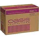 Oasis Instant Standard Floral Foam Bricks - Case of 48 - Maxlife Floral Foam - Wet Floral Foam Bricks for Flower Arranging
