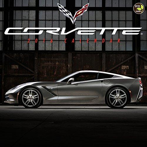 Corvette - 2016 Calendar 12 x 12in