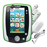 LeapFrog LeapPad2 Power Kids? Learning Tablet, Green (includes rechargeable battery - $40 value)