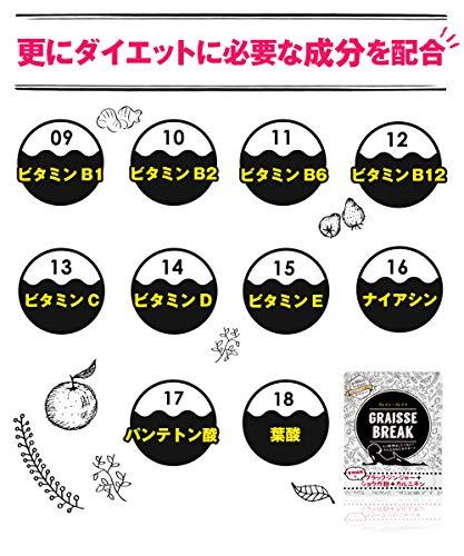 Japanese Popular Diet Supplement Graisse Break 30days(60tablets) by Graisse Break (Image #5)