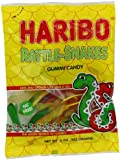 Haribo Gummi Candy, Rattle-Snakes, 5- Ounce Bags (Pack of 12)