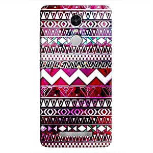 Cover It Up - Pink Pattern Dreams Redmi Note 3Hard Case