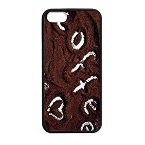 Coffee The Earth Custom Phone Case For iPhone 5 5S (Laser Technology) PC Case Cover Skin wangjiang maoyi