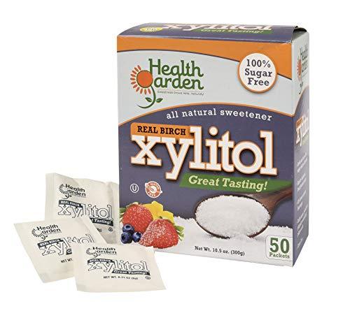 Health Garden Birch Xylitol Sugar Free Sweetener (50 Packets) by HEALTH GARDEN (Image #5)