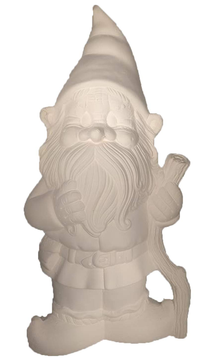 Papa Bertie Gnome 16'' x 8'' Ceramic Bisque, Ready to Paint by Creative Kreations Ceramics (Image #1)