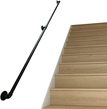 Kit de pasamanos de escaleras de 30 cm-600 cm. Pasamanos Seguros para el Embarazo Niños Tercera Edad Escaleras Que Caminan Interior al Aire Libre: Amazon.es: Hogar