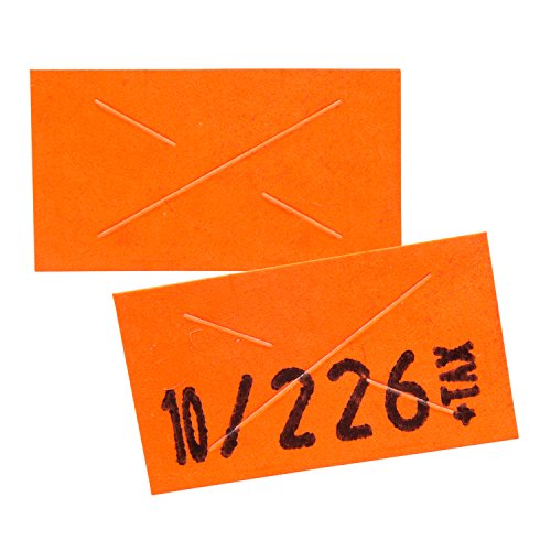 Garvey 22-6 Pricing Gun with Labels Value Pack: Includes Garvey 22-6 Price Gun, 110,000 Fluorescent Red Pricemarking Labels, 8 Bonus Inkers by Perco (Image #2)
