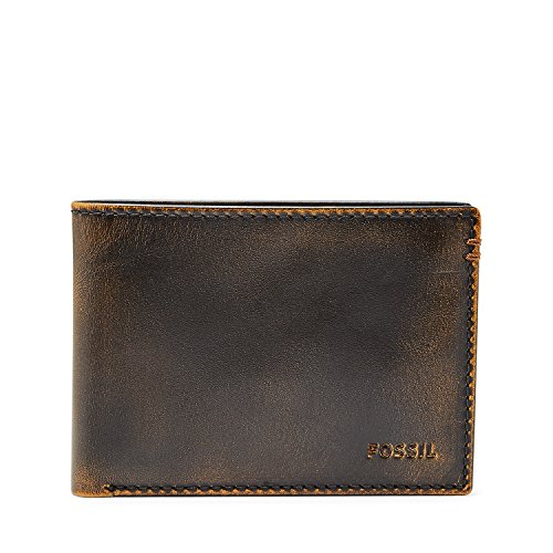 e106fb1db4903f Fossil Wade Narrow Bifold Wallet Black ML3883001 - Buy Online in Oman. |  Apparel Products in Oman - See Prices, Reviews and Free Delivery in Muscat,  Seeb, ...