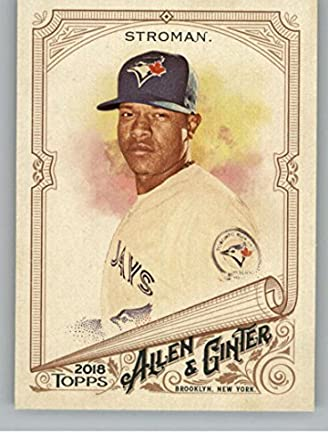 e3bcd3931cf Amazon.com  Baseball MLB 2018 Allen and Ginter  292 Marcus Stroman Blue  Jays  Collectibles   Fine Art