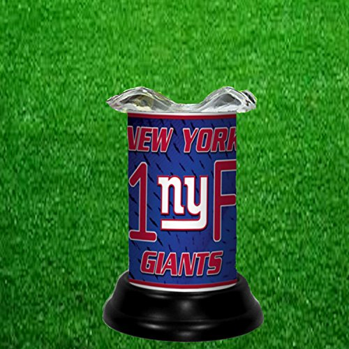Giants Nfl Candle (NEW YORK GIANTS TART WARMER - FRAGRANCE LAMP - BY TAGZ SPORTS)