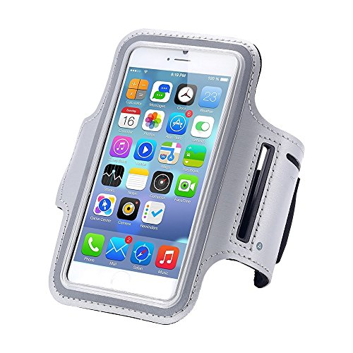 PinPle(TM) Phone Sports Armband Holder Case with Key Pocket for iPhone 6 amsung Galaxy S5 S4 S3 - Tm Image Click
