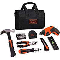 Black & Decker 41-Piece 4V Max Lithium Screwdriver Project Kit