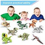 LSAltd Children Early Education Puzzle Toys Dinosaur DIY Building Blocks Toys Playset