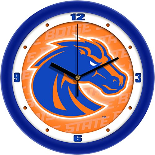SunTime NCAA Boise State Broncos Wall Clock