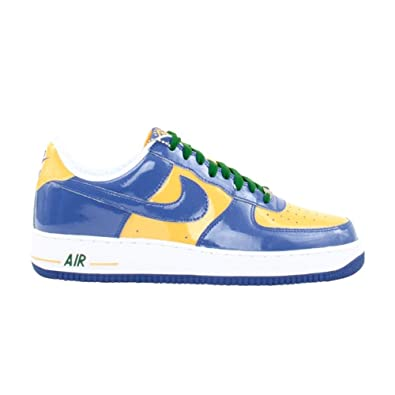 competitive price 55c01 faf9f Image Unavailable. Image not available for. Color Nike Air Force 1 Low  Brazil 2006 ...