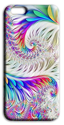 Mixroom - Cover Custodia Case In TPU Silicone Morbida Per Apple Iphone 5 5s Q242 Piume fantasiose