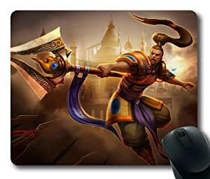 Customizablestyle League of Legends Xin Zhao-4 Mousepad, Customized Rectangle DIY Mouse Pad
