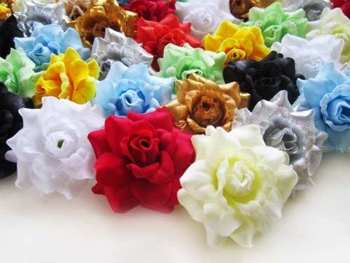 100-Assorted-Silk-Roses-Flower-Head-175-Artificial-Flowers-Heads-Fabric-Floral-Supplies-Wholesale-Lot-for-Wedding-Flowers-Accessories-Make-Bridal-Hair-Clips-Headbands-Dress