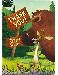 Open Season Thank You Notes w/ Env. (8ct) BOBEBE Online Baby Store From New York to Miami and Los Angeles