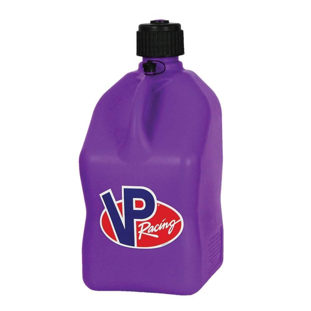 VP 5 Gallon Square Purple Racing Utility Jug by VP Racing Fuels