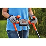 BLACK+DECKER Electric Lawn Mower, 10 -Amp, 15-Inch (BEMW472BH) 23 IMPROVED ERGONOMICS: Comfort grip handle makes the lawn mower easy to maneuver BETTER CLIPPING COLLECTION: Our winged blade achieves 30% better clipping collection NO MORE PULL CORDS: Push-button start makes starting the lawn mower a breeze