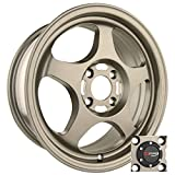 Drag Wheels DR-23 15x6.5/ 4x100 Flat Bronze Full rims