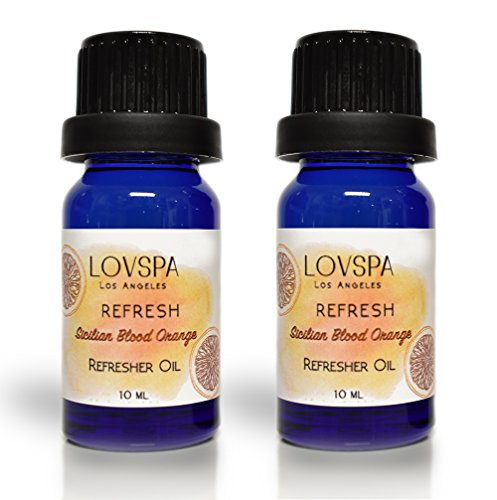 - LOVSPA Refresh Sicilian Blood Orange Potpourri Refresher Oil | Energizing Grapefruit & Bergamot | Pack of 2 | Scented Oils for car, Home or Dried Flowers