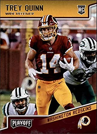 2018 Playoff Football  293 Trey Quinn SP RC Rookie Washington Redskins  Rookie Official NFL Trading 4a64742a0