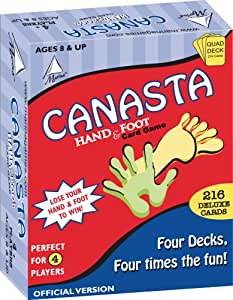 Canasta Hand And Foot Card Game