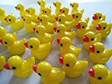 #6: DECO LOVE Sime Charms Ducks 50Psc Slime Beads for Slime Decoration