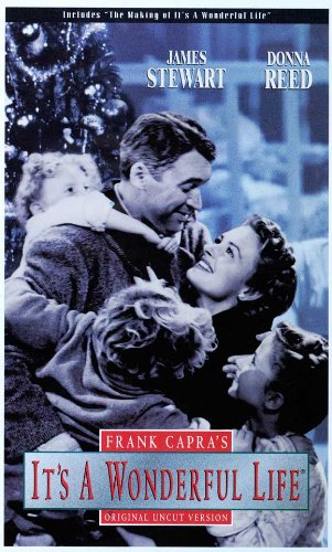 It's a Wonderful Life B&W Movie Poster