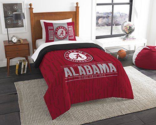 - The Northwest Company Officially Licensed NCAA Alabama Crimson Tide Modern Take Twin Comforter and Sham